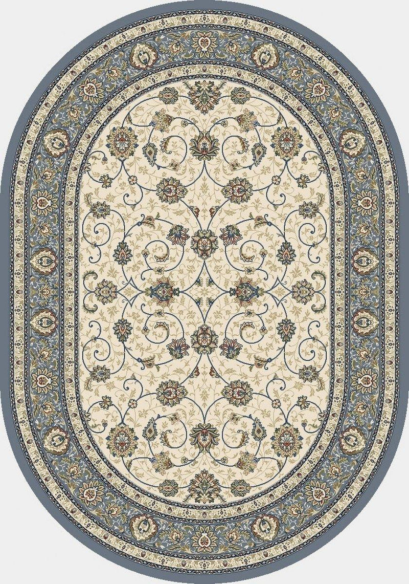 Dynamic ANCIENT GARDEN BEIGE/LIGHT BLUE 57120-6454 Area Rug
