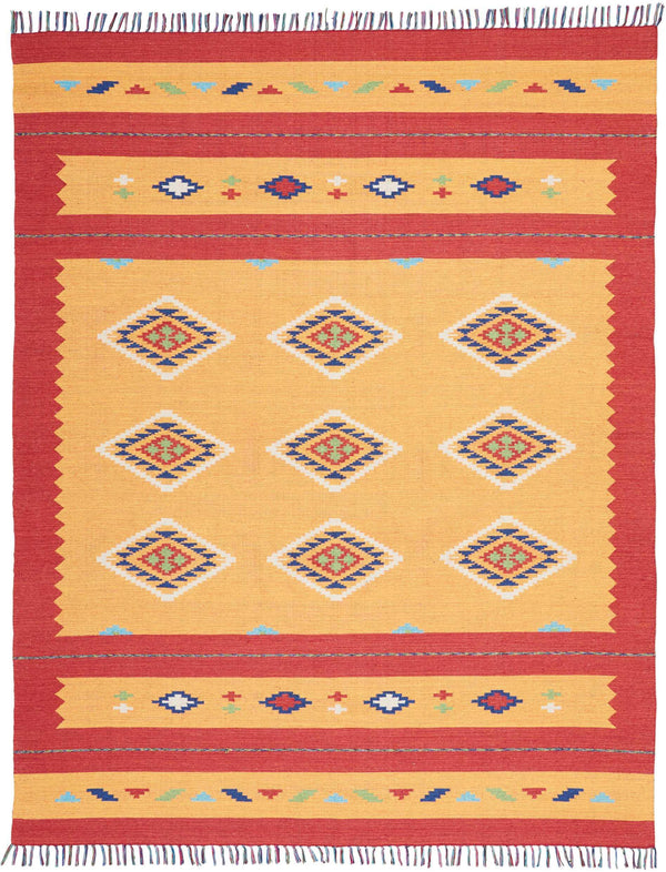 Nourison BAJA BAJ02 ORANGE/RED Area Rug