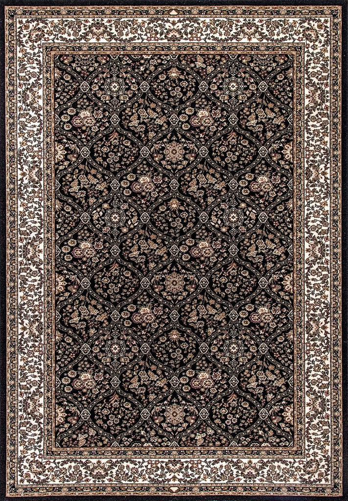 Dynamic Rugs BRILLIANT 7211 BLACK 090 Area Rug - rug store usa