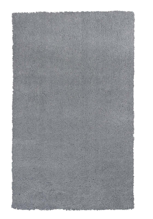 kas rugs Bliss Grey Shag 1557 Grey Area Rugs