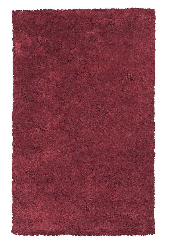 kas rugs Bliss Red Shag 1564 Red Area Rugs
