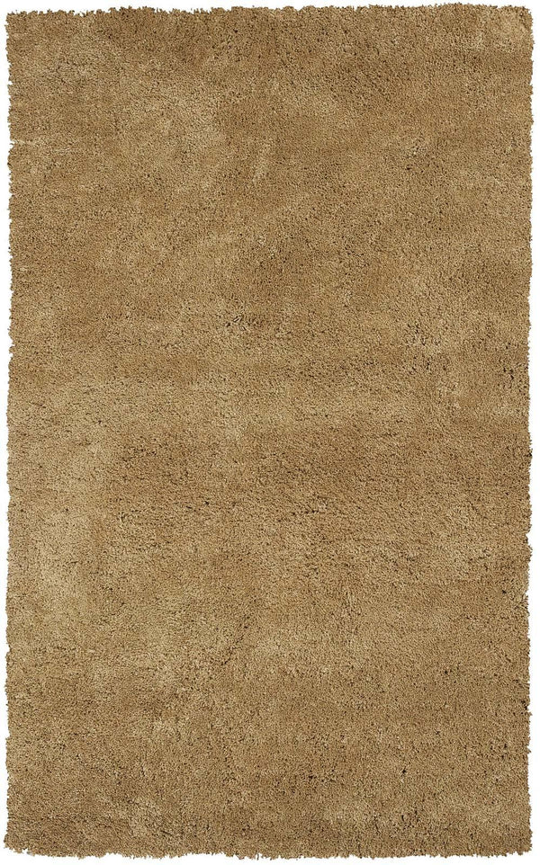 kas rugs Bliss Gold Shag 1567 Gold Area Rugs