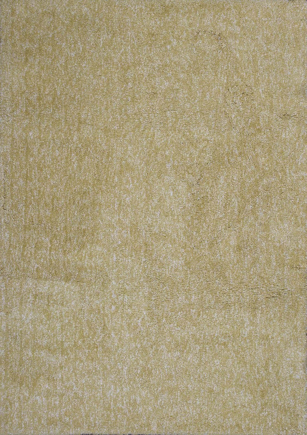 kas rugs Bliss Yellow Heather Shag 1586 Yellow Heather Area Rugs