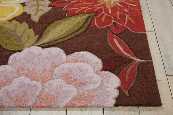 Nourison FANTASY FA18 CHOCOLATE Area Rug