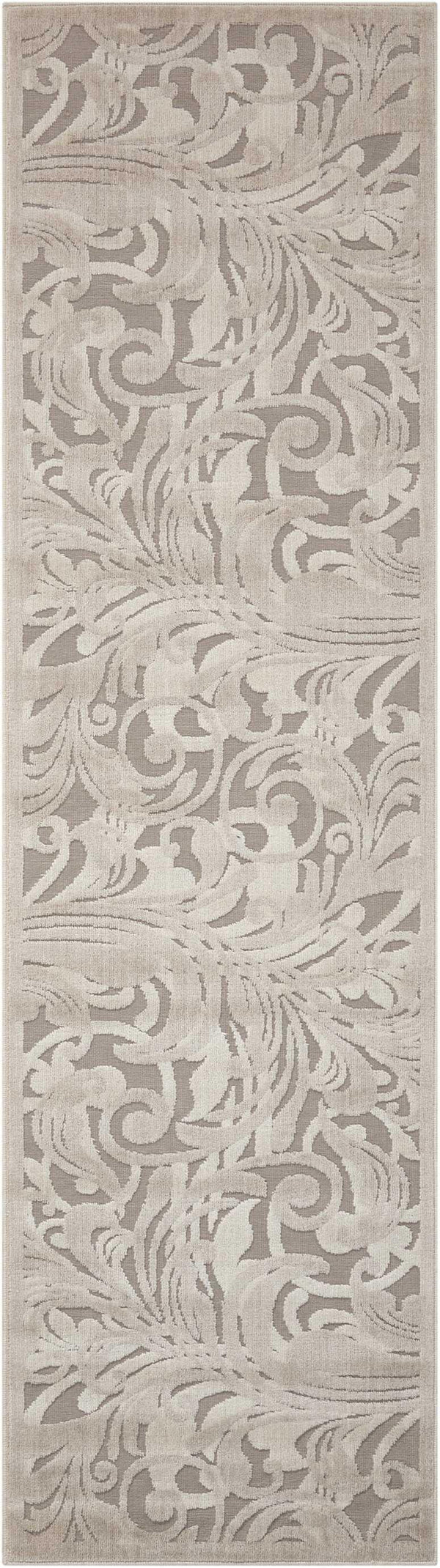 Nourison GRAPHIC ILLUSIONS GIL01 GRY/CAMEL Area Rug