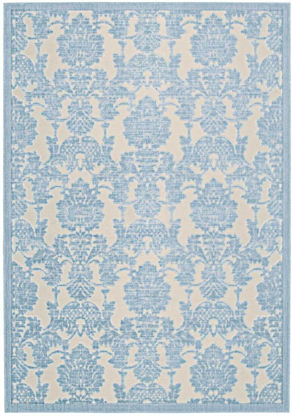 Nourison GRAPHIC ILLUSIONS GIL03 IV/LTB Area Rug