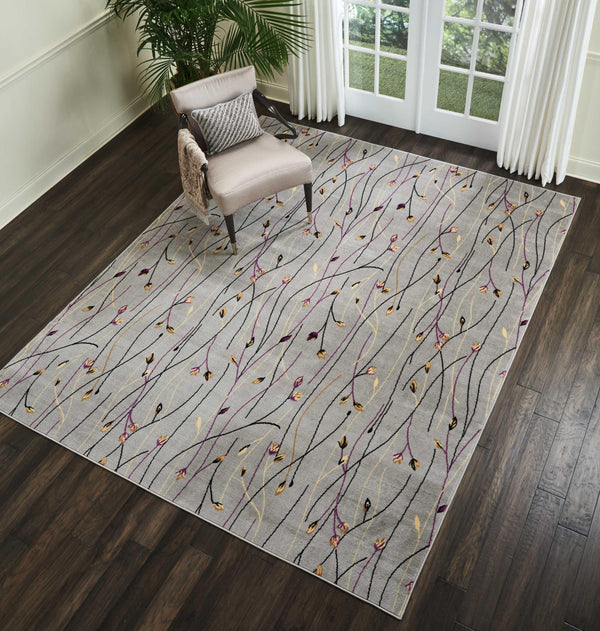Nourison GRAFIX GRF15 GREY Area Rug