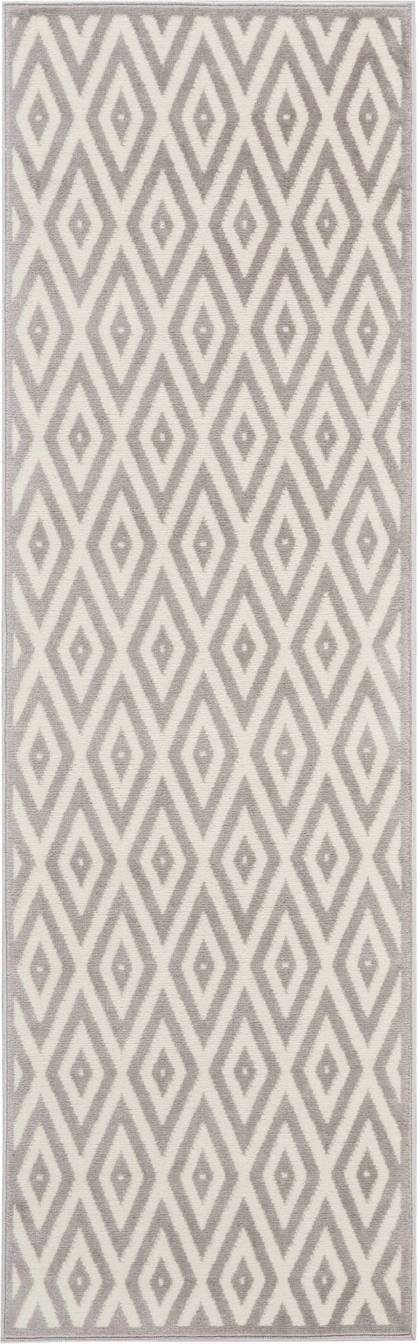 Nourison GRAFIX GRF18 WHITE/GREY Area Rug