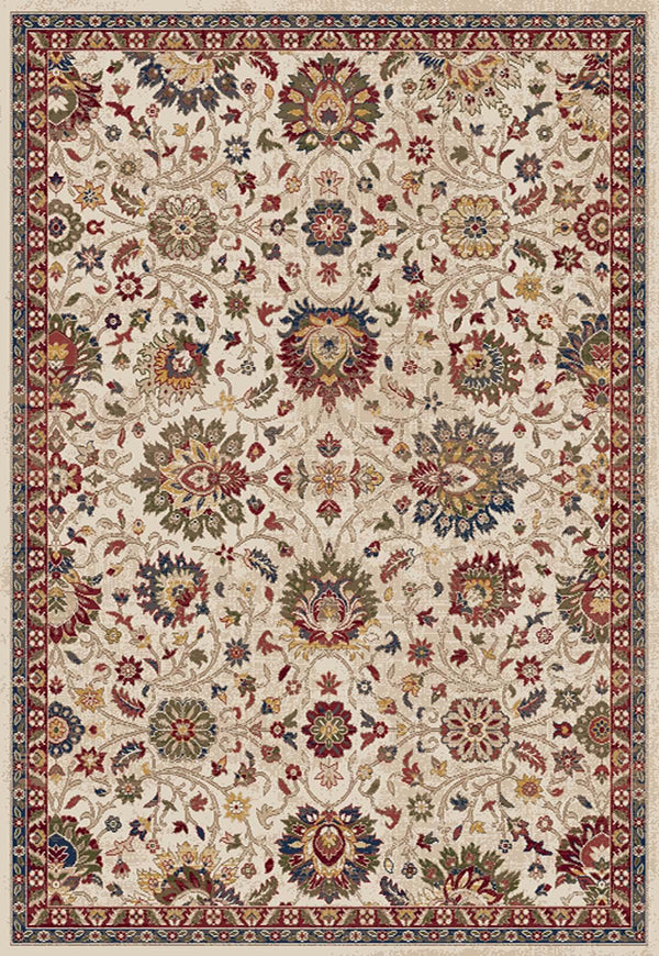 Dynamic JUNO IVORY-RED 6883-130 Area Rug