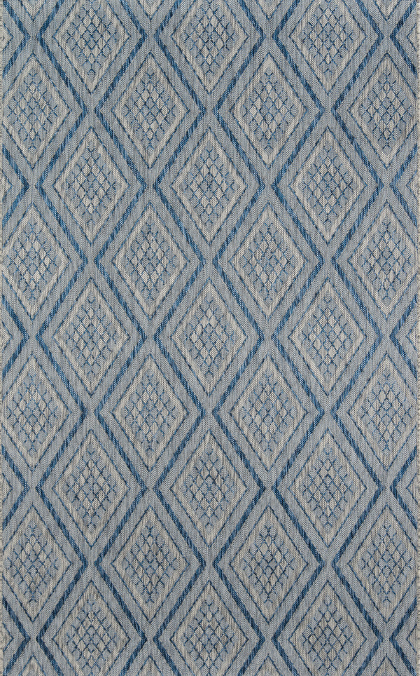 Momeni Lake Palace LAK-1 Blue Area Rug