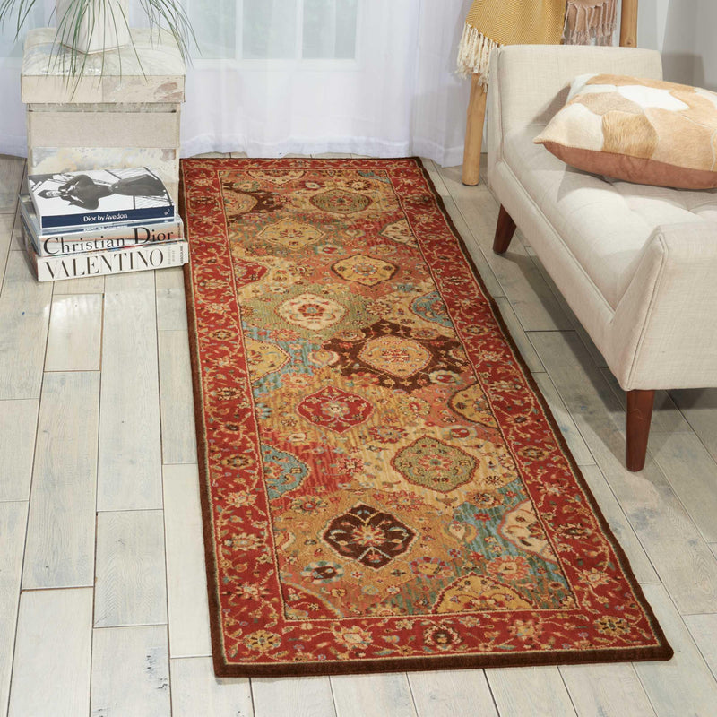 Nourison LIVING TREASURES LI03 MULTICOLOR Area Rug