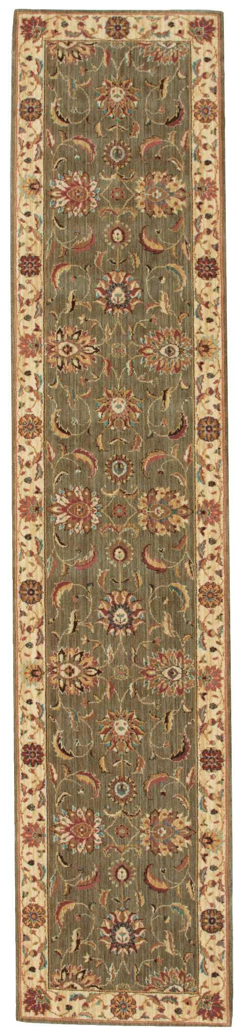 Nourison LIVING TREASURES LI04 GREEN Area Rug