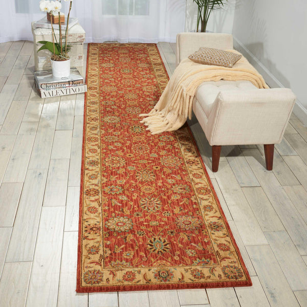 Nourison LIVING TREASURES LI05 RUST Area Rug