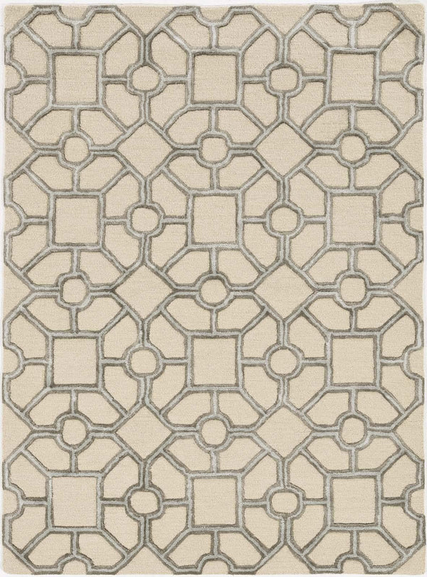 kas rugs Libby Langdon Upton Putty-Spa Paris Garden 4306 Beige Area Rugs