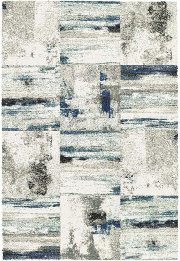 Dynamic MEHARI TAUPE-BLUE 23125-6258 Area Rug
