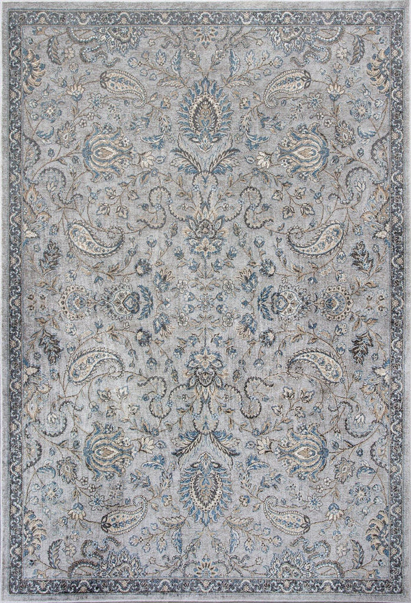 Kas Provence 8613 Silver/Blue Mahal Area Rug
