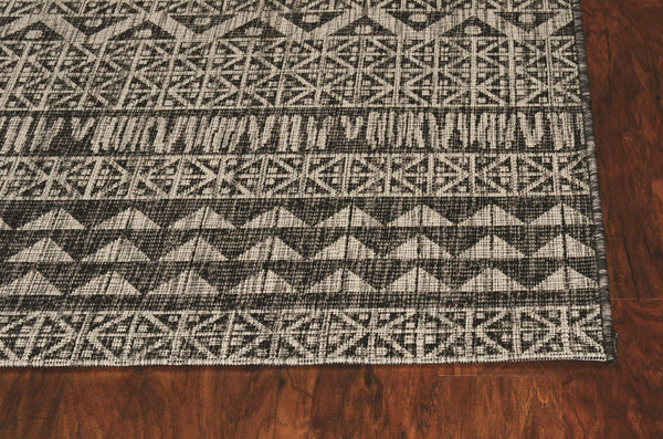 Kas Provo 5761 Charcoal Tribe Area Rug