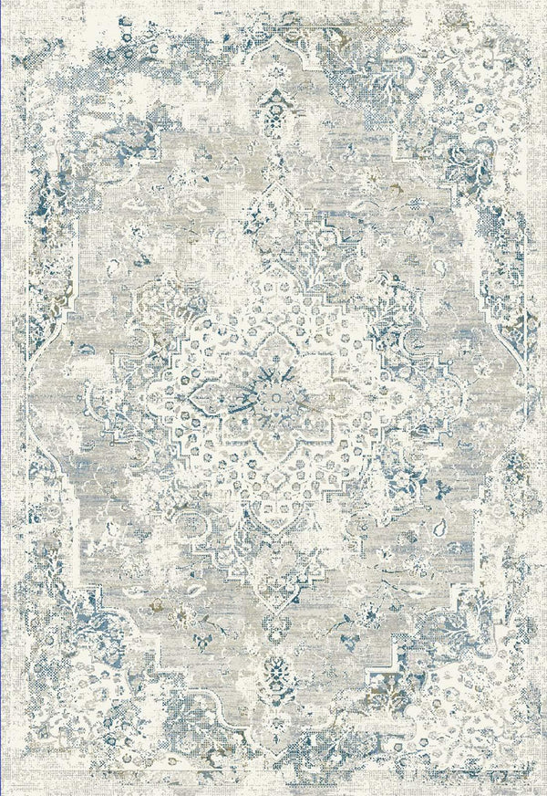 Dynamic QUARTZ IVORY-GREY-BLUE 27064-195 Area Rug