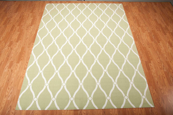 Nourison HOME & GARDEN RS089 GREEN Area Rug