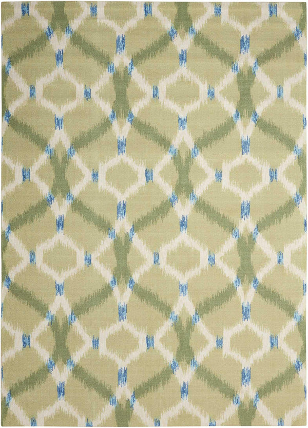 Waverly Wav01/Sun & Shade SND05 Avocado Area rug
