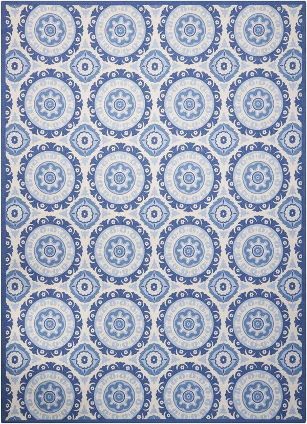Waverly Wav01/Sun & Shade SND16 Navy Area rug