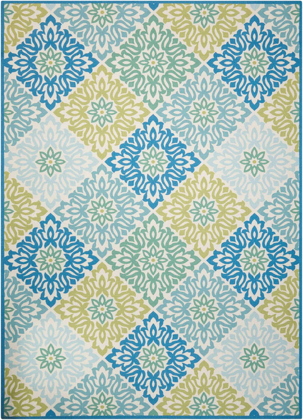 Waverly Wav01/Sun & Shade SND23 Marine Area rug