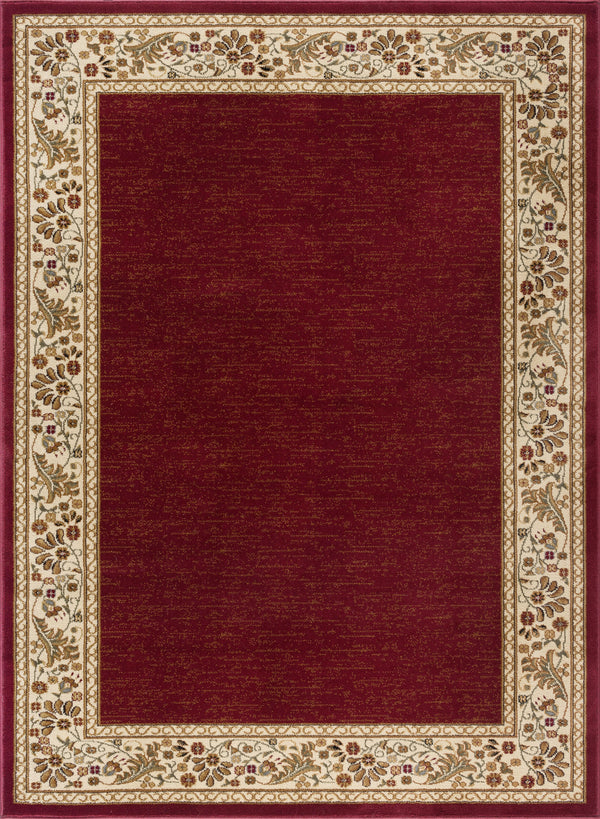 Tayse Sensation 4740 Red Area Rug - The Rug Store