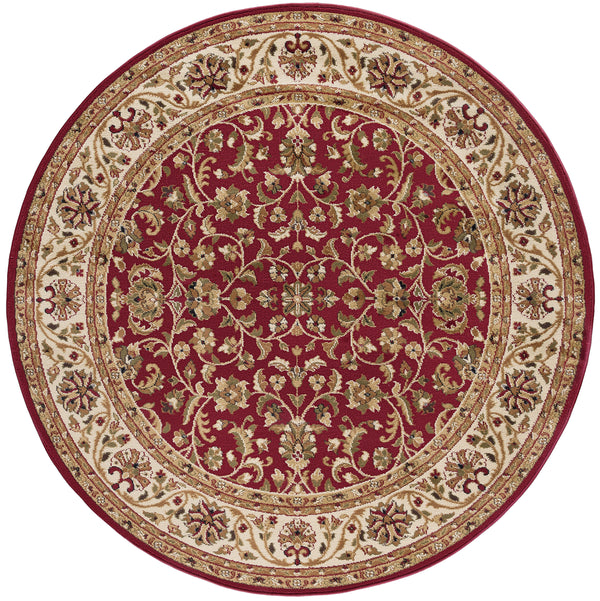 Tayse Sensation 4810 Red Area Rug - The Rug Store