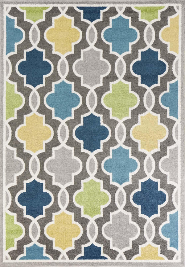 kas rugs Skyline Grey Hampton 6418 Grey Area Rugs
