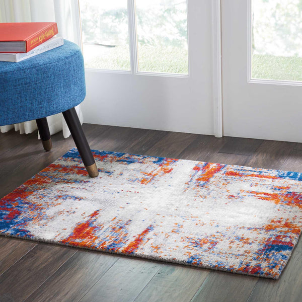Nourison TWILIGHT TWI26 IVORY/MULTI Area Rug
