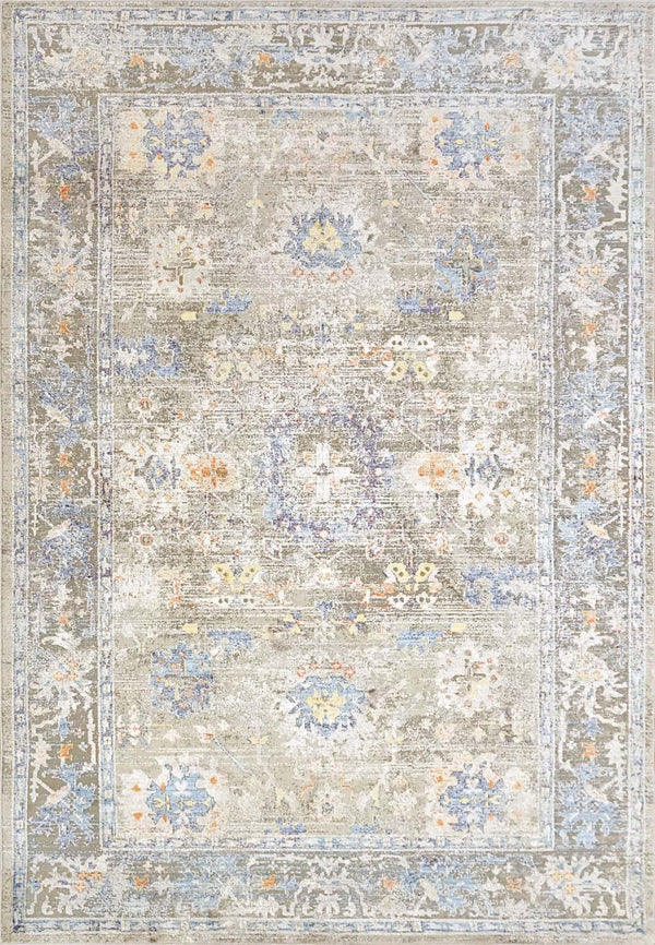 Dynamic VALLEY GREY-GOLD-BLUE 7981-975 Area Rug