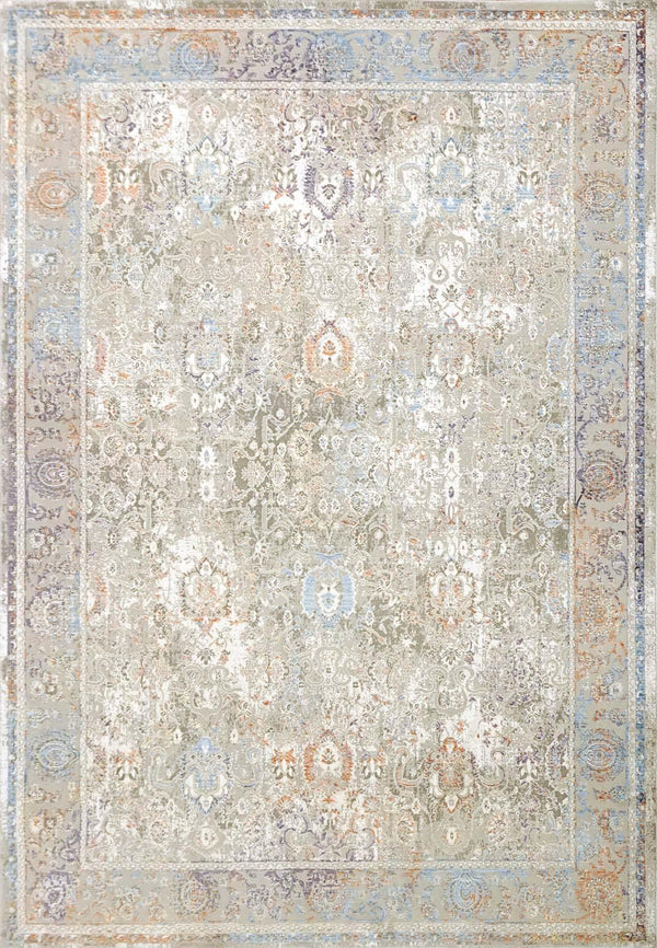 Dynamic VALLEY GREY-PINK-BLUE 7983-925 Area Rug