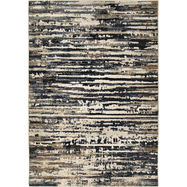 Orian Adagio 8234 Tree Tracks Indigo By Palmetto Living Area Rug