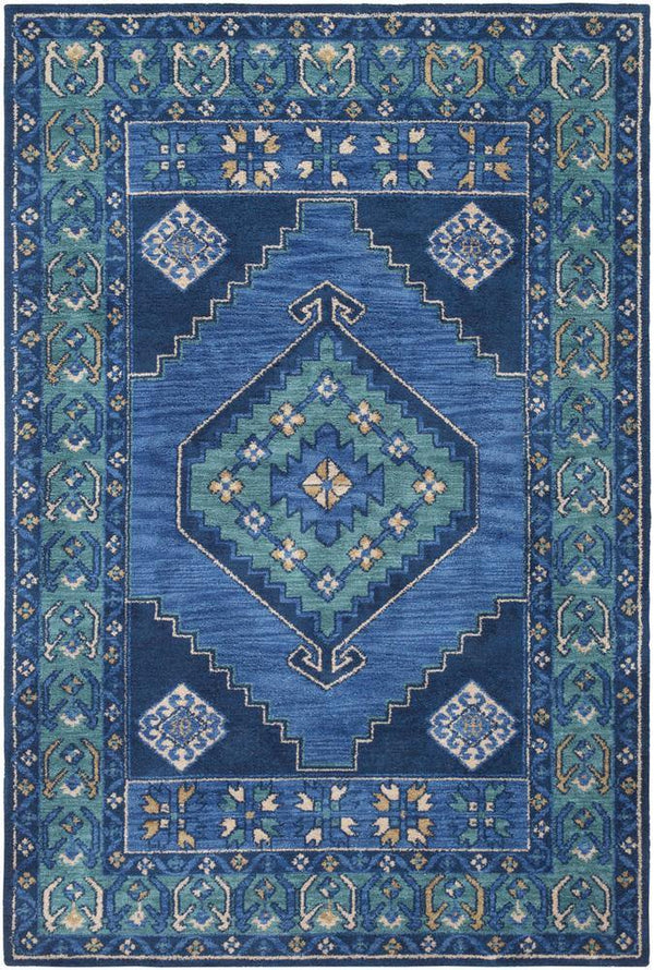 Artistic Weavers Arabia ABA-6253 Navy Area Rug