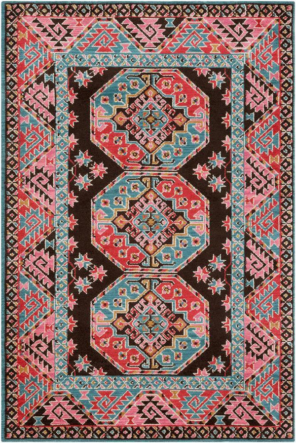 Artistic Weavers Arabia ABA-6273 Bright Pink Area Rug