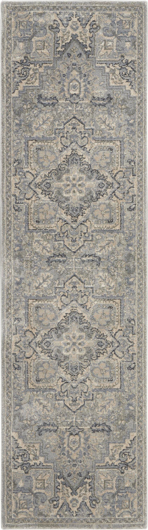 kathy ireland Moroccan Celebration KI382 Silver Area rug