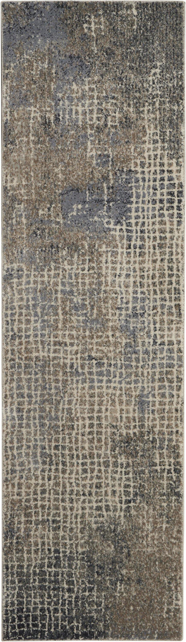 kathy ireland Moroccan Celebration KI383 Ivory/Grey Area rug