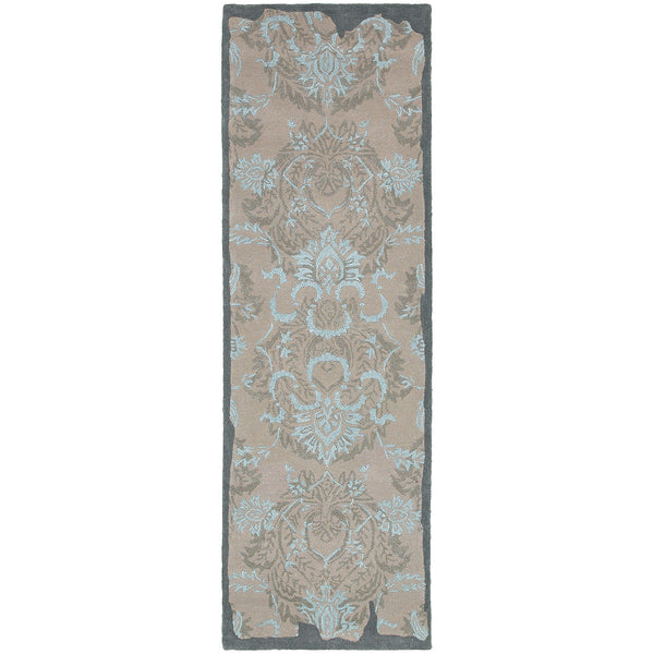Pantone Color Influence 45102 Grey/ Blue Area Rug - rug store usa