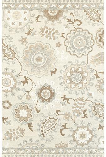 Sphinx By Oriental Weavers CRAFT 93005 Ivory/ Grey Area Rug