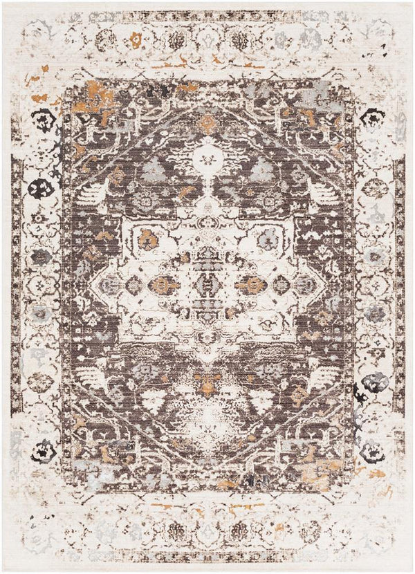 Surya Crescendo CRC-1010 Dark Brown Area Rug