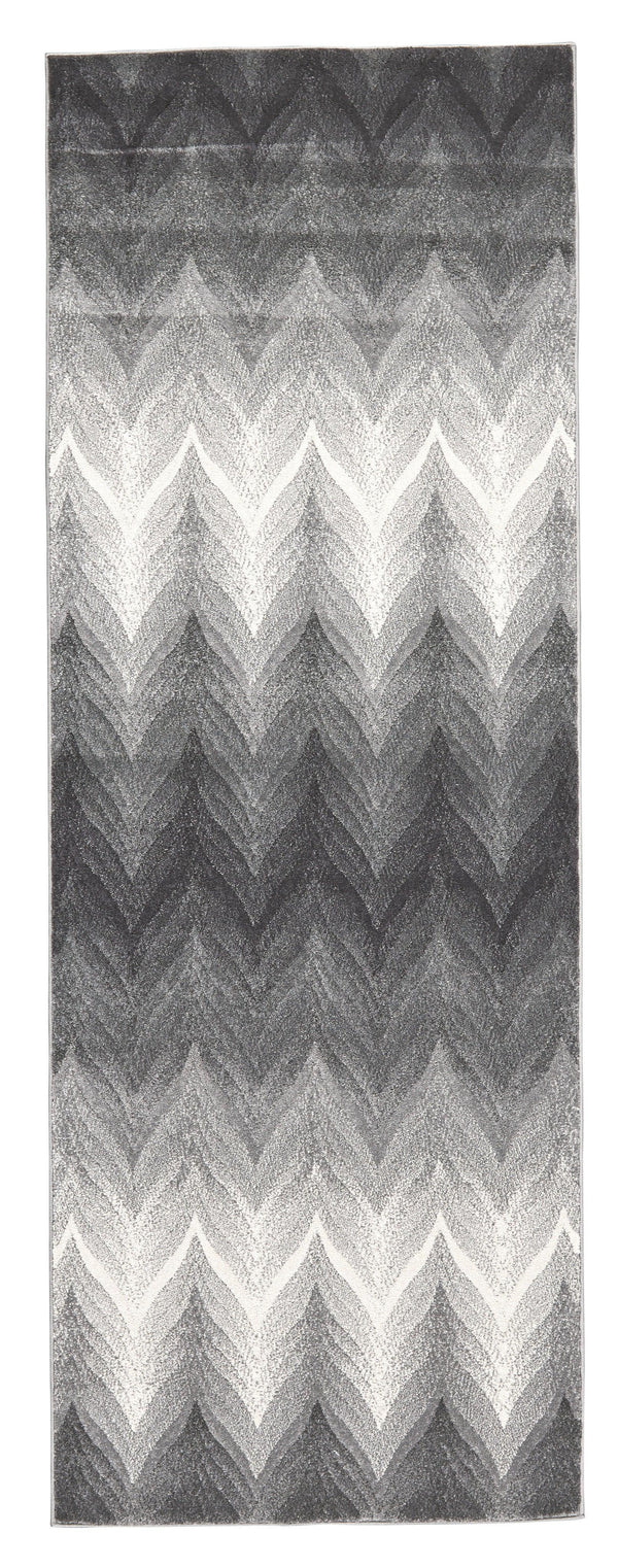 Feizy BLEECKER 617-3589F ASH Area Rug - The Rug Store