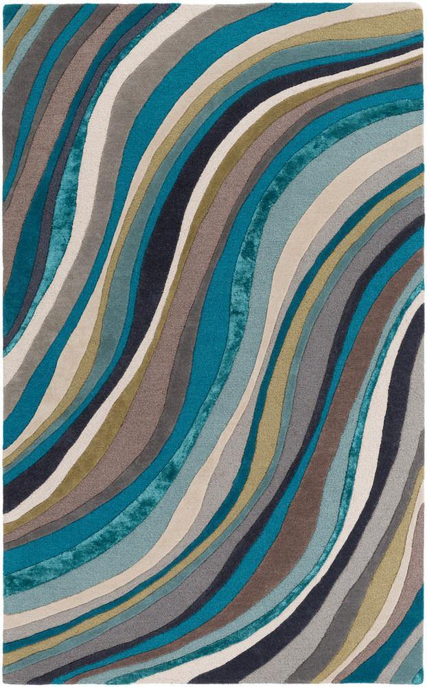 Artistic Weavers Lounge LGE-2293 Teal Area Rug