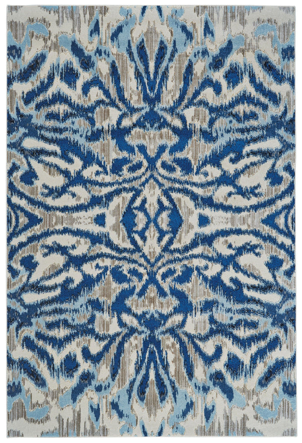 Feizy MILTON 653-3467F BLUE HAZE Area Rug - The Rug Store