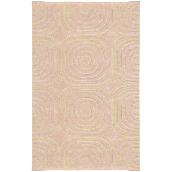 Pantone Optic 41108 Pink/ Ivory Area Rug - rug store usa