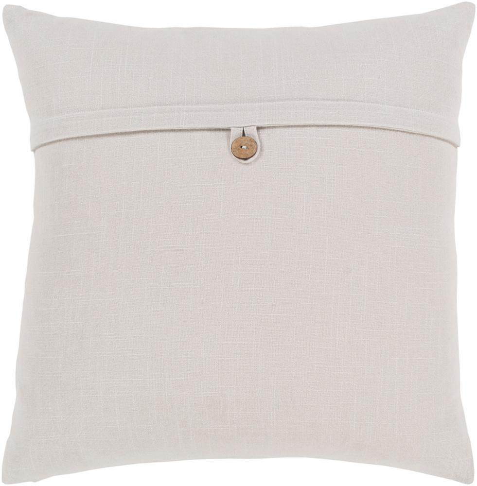 Surya Penelope PLP-005 Ivory Pillow Cover