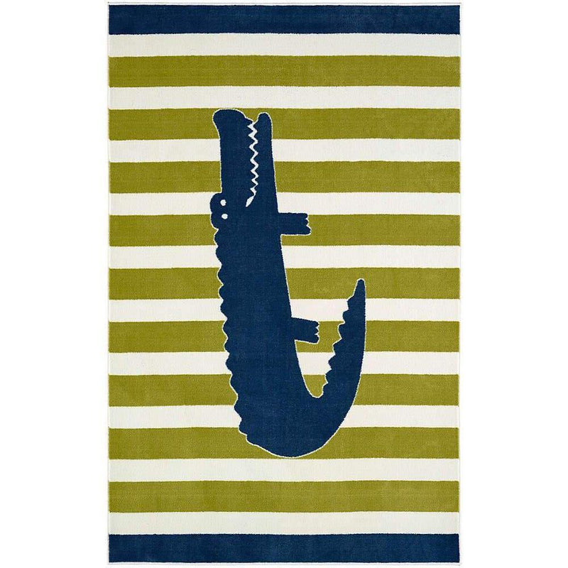 Mohawk Aurora (Kids) Friendly Alligator Multi 12390-416 Area Rug