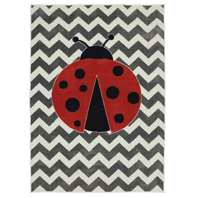 Mohawk Aurora (Kids) Little Lady Bug Multi 12396-416 Area Rug