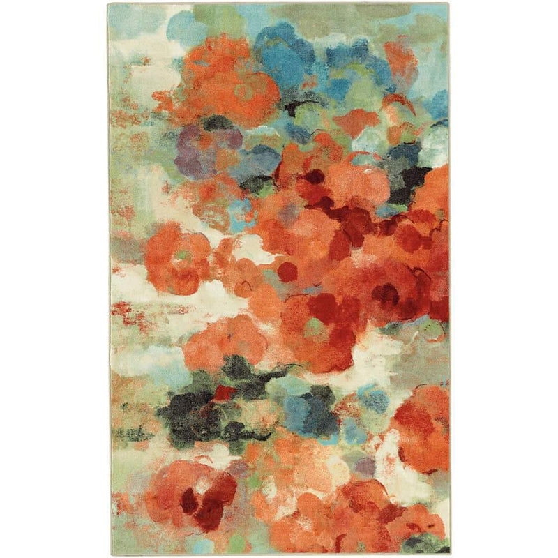 Mohawk Aurora Colorful Garden Multi 12917-416 Area Rug