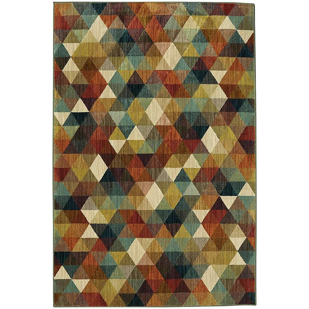 Mohawk Studio Diamonte Multi 91163-50123 Area Rug