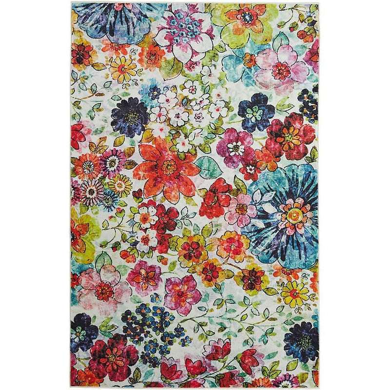 Mohawk Prismatic Blossoms Rainbow Z0021-A509 Area Rug